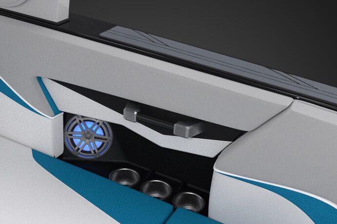 MACHINED ALUMINUM INTERIOR HAND RAILS