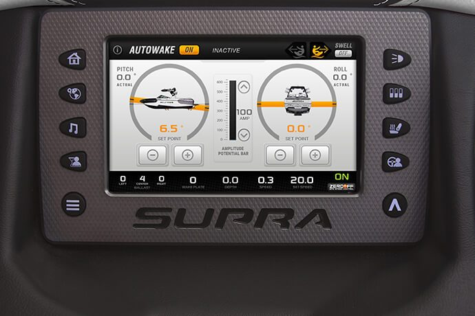 SUPRA VISION TOUCH SYSTEM WITH AMPLITUDE DISPLAY