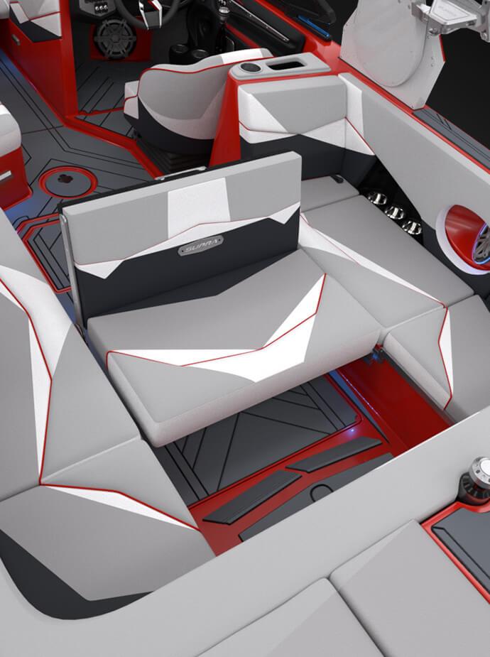 CONVERTIBLE REAR FLIP SEAT